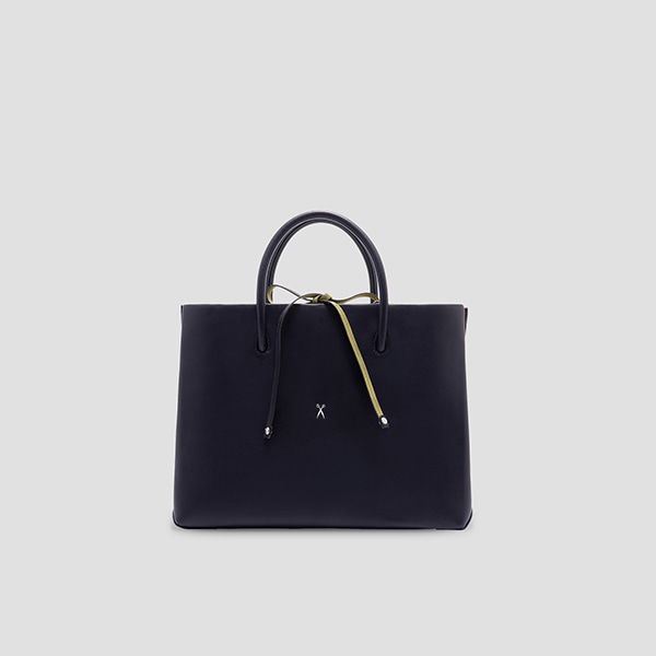 Stacey Tote L Dark Navy