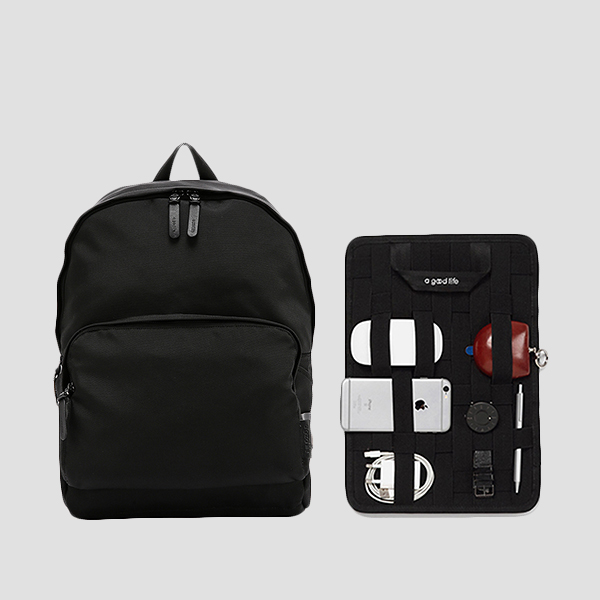 Ultra Backpack L Balistick Black(+Organizer)