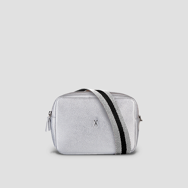 OZ Mini Square Bag Silver