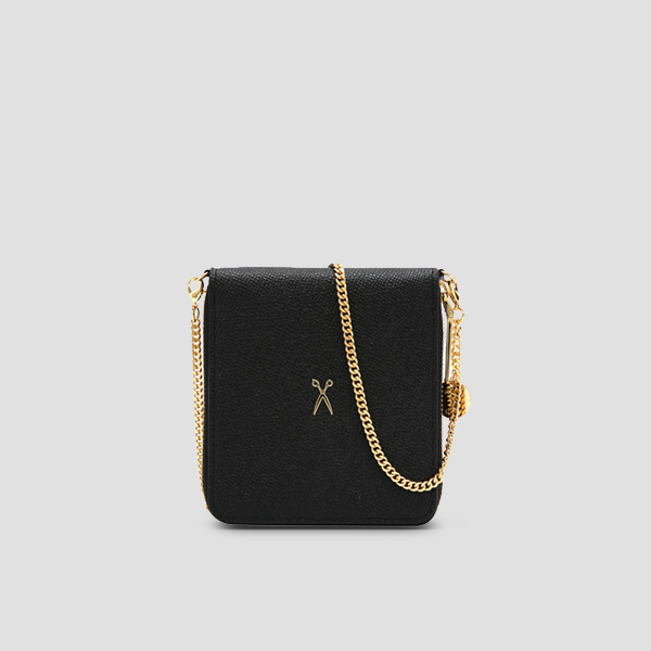 Easypass OZ Wallet Bolt With Chain Rich Black