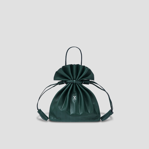 Lucky Pleats Crossbag Pine Green