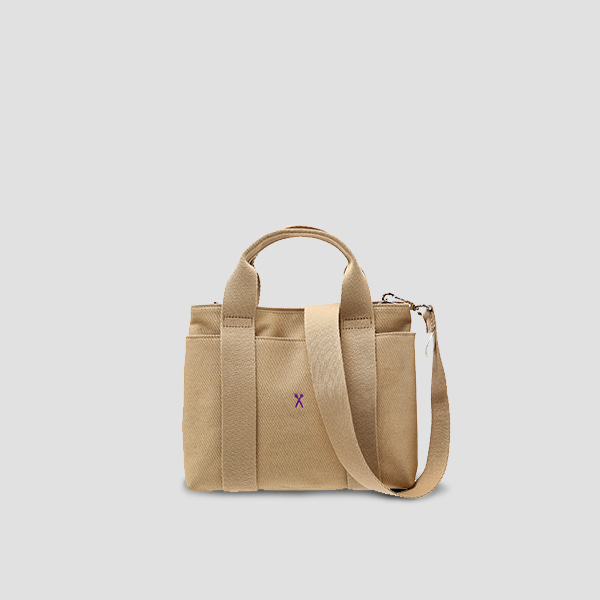 Stacey Daytrip Tote Canvas S Beige