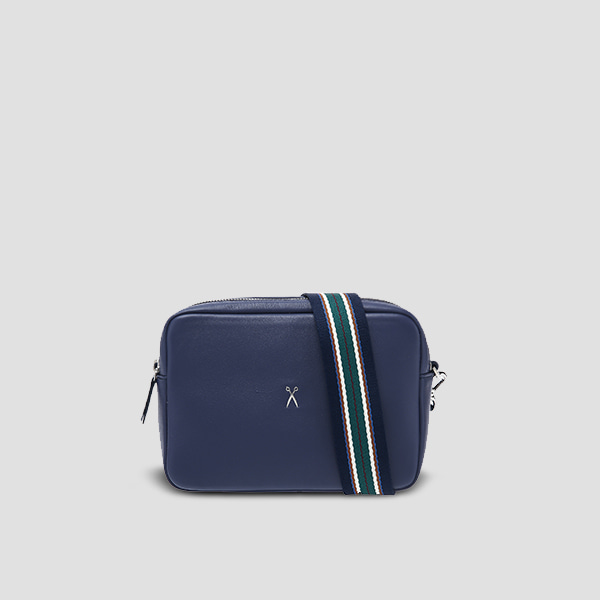OZ Mini Square Bag Posy Navy