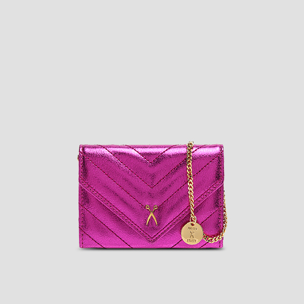 [NEW 20,Nov]Easypass Amante Card Wallet Eve EditionBubble Pink(+Chain Strap)