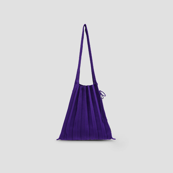Lucky Pleats Knit M Ultra Violet