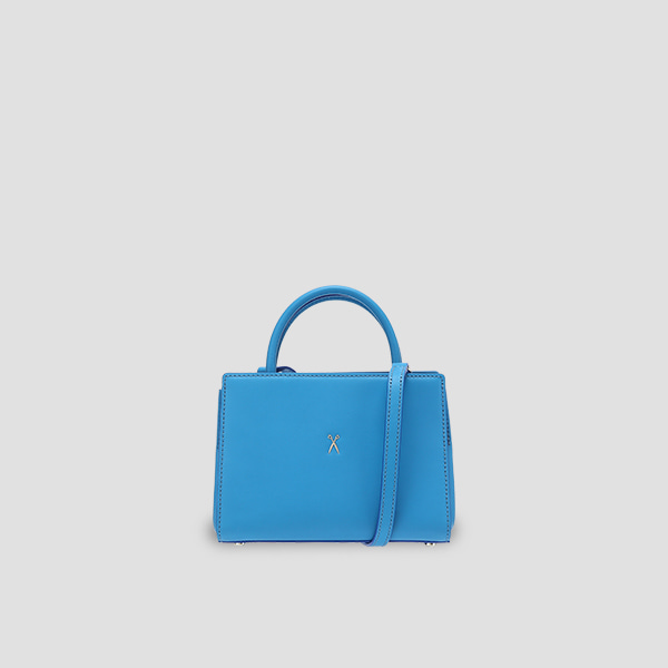 Lucky Pleats Tote S Hockney Blue