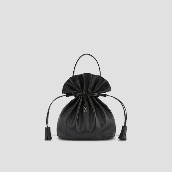 Lucky Pleats Crossbag Rich Black