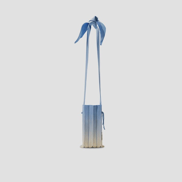 Lucky Pleats Knit Cellbag Galaxy Sky