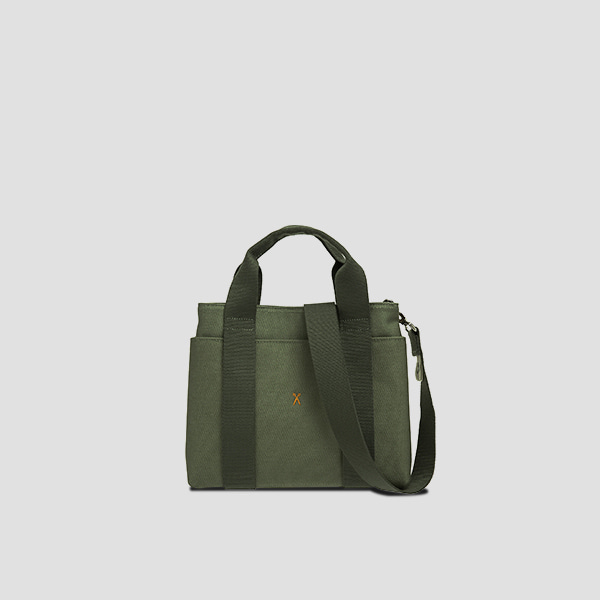 Stacey Daytrip Tote Canvas S Khaki