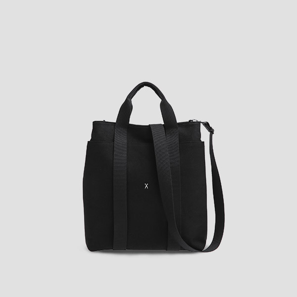 Stacey Daytrip Tote V Canvas Black