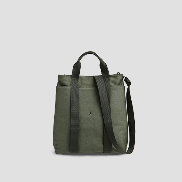 Stacey Daytrip Tote V Canvas Khaki