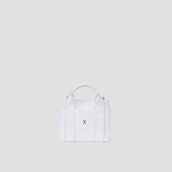 Stacey Daytrip Tote Canvas Mini Coated Ivory