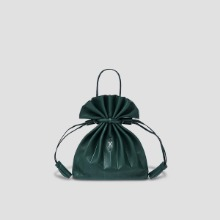 [Sold Out]Lucky Pleats Crossbag Pine Green