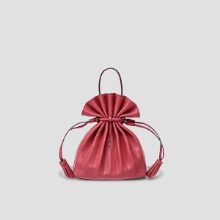 Lucky Pleats Crossbag Mineral Red