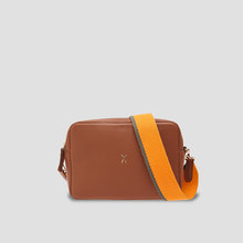 OZ Mini Square Bag Tortoise Brown